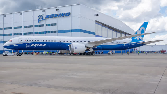 Boeing 787 Manufacturing issues