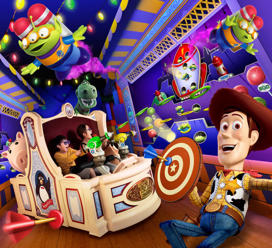 Toy Story Mania! Will Open at Tokyo DisneySea July 9 | Disney Parks Blog