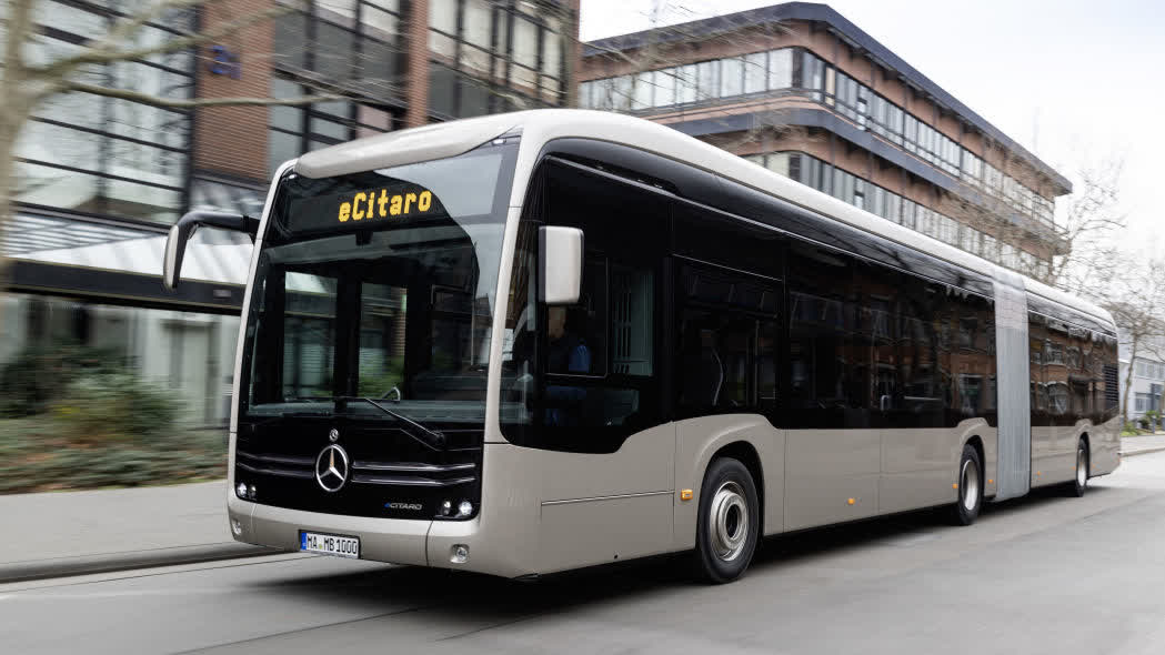 Mercedes-Benz eCitaro G bus