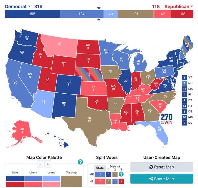 Angry Bear »A previsão do presidente e do Senado para 2020: Trump encontra seu problema 3