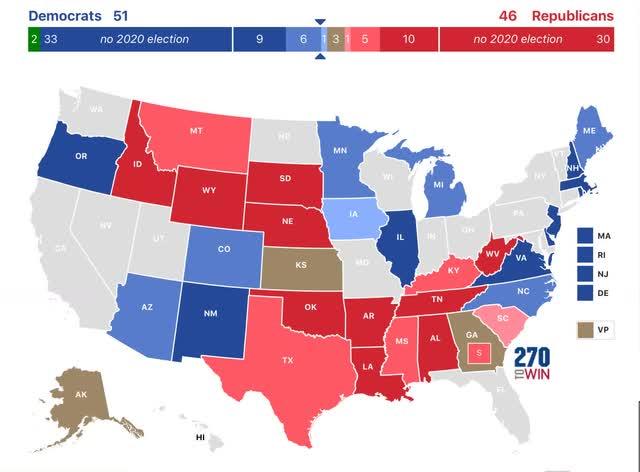 Angry Bear »A previsão do presidente e do Senado para 2020: Trump encontra seu problema 4
