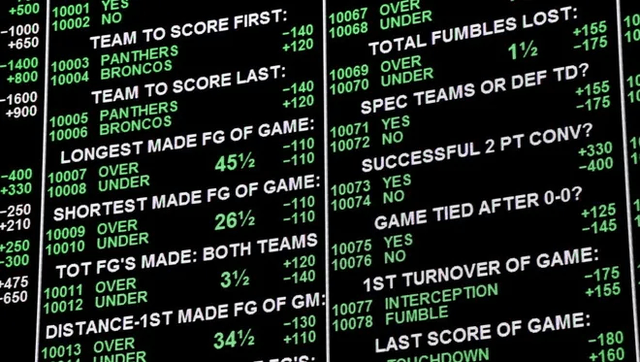 sports betting firms
