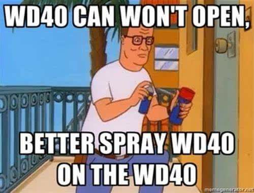 King of the Hill WD40