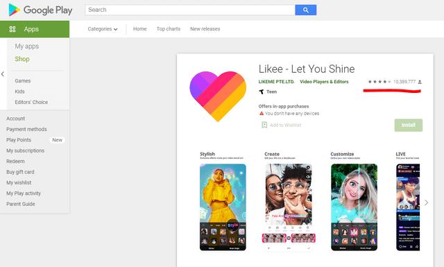 Likee – Source: Google Play