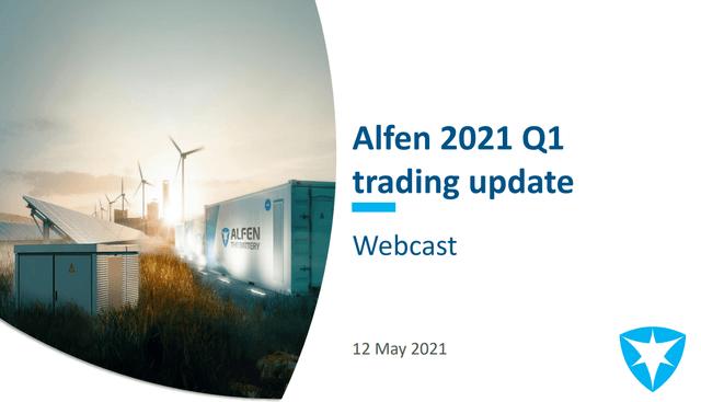 Alfen stock analysis – business overview – Source: Alfen Investor Presentation
