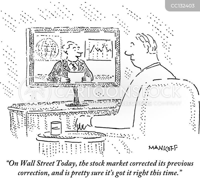 Market Correction Cartoons and Comics - funny pictures from CartoonStock