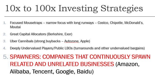 Investing strategies for 10x stocks
