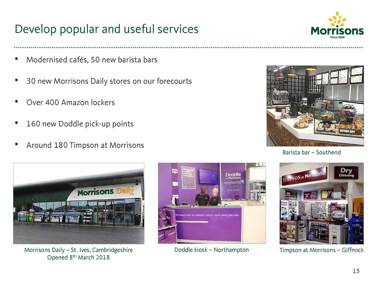 wm morrison supermarkets plc Wm morrisons supermarkets plc 154 likes retail company.