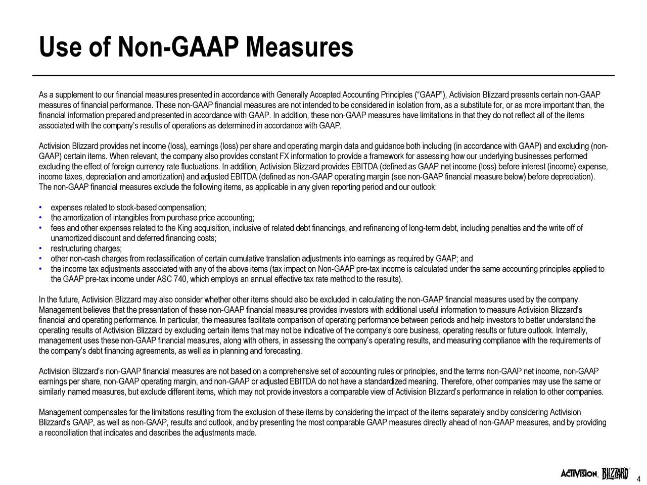 the use of nonfinancial measures to