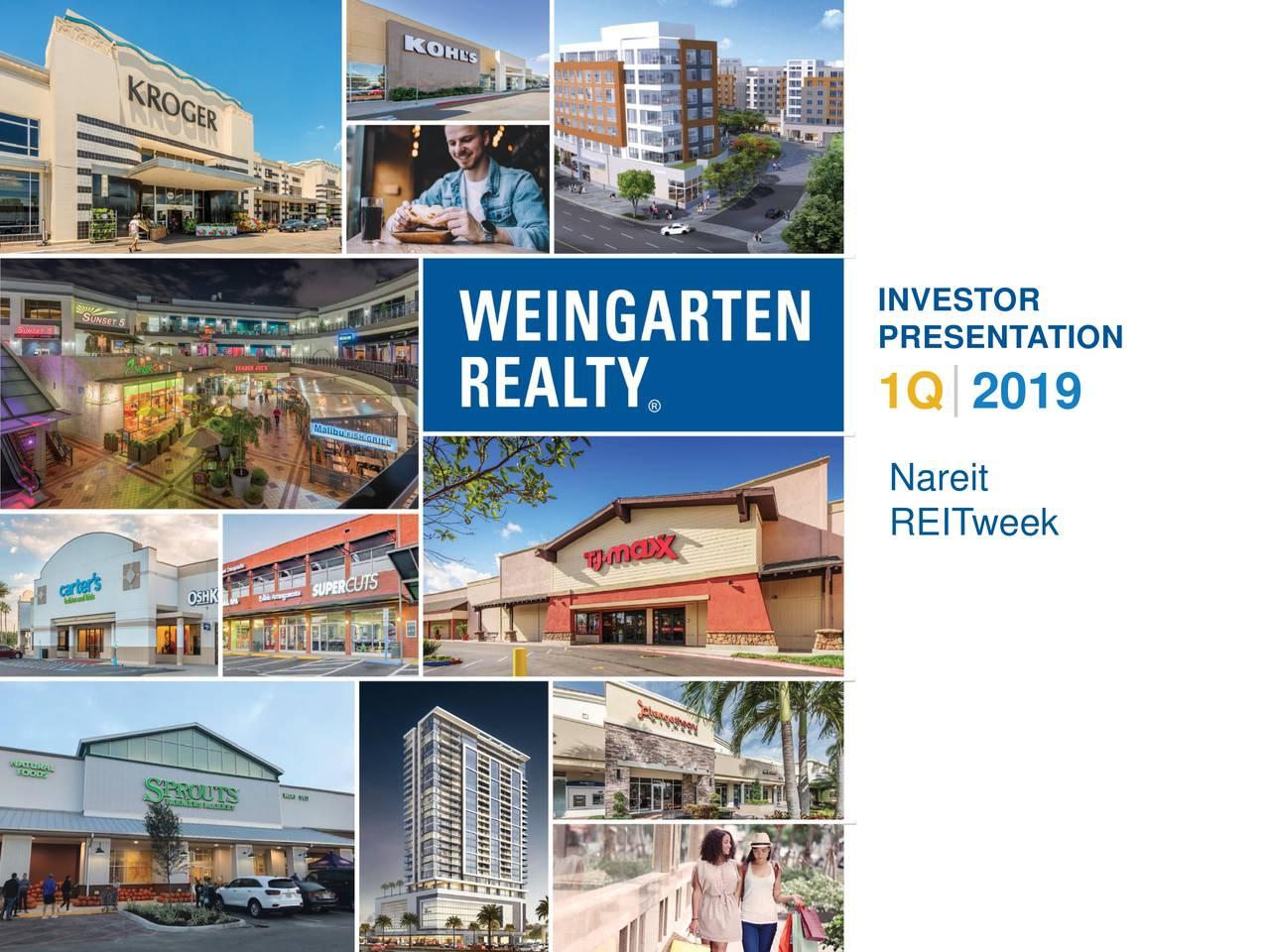 Weingarten Realty Investors (WRI) Presents At NAREIT 2019 Investor Conference - Slideshow