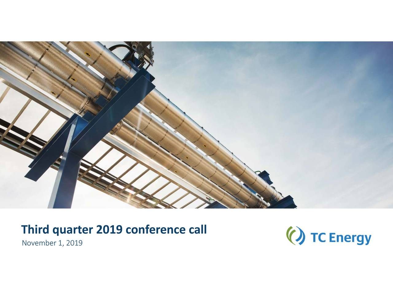 Thirdquarter2019conferencecall