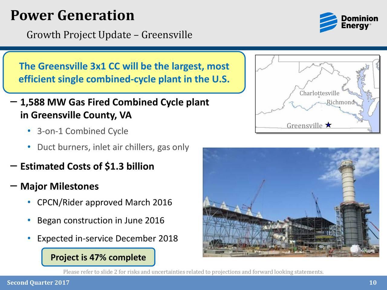 Die Dominion Resources, Inc. widmet sich der Erzeugung und dem Transport von Strom in den USA. Mehr anzeigen.