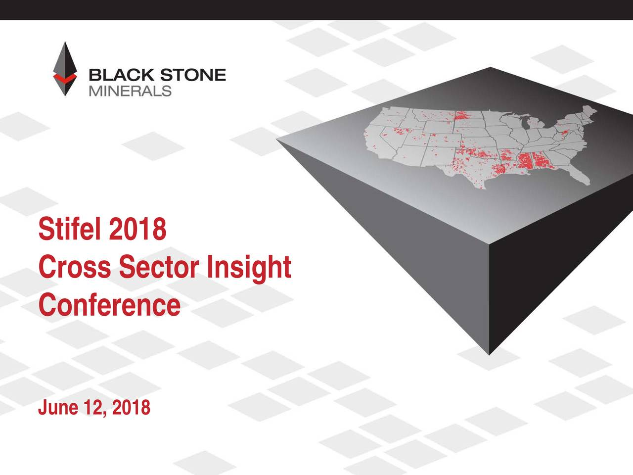 Cross Sector Insight Conference June 12, 2018