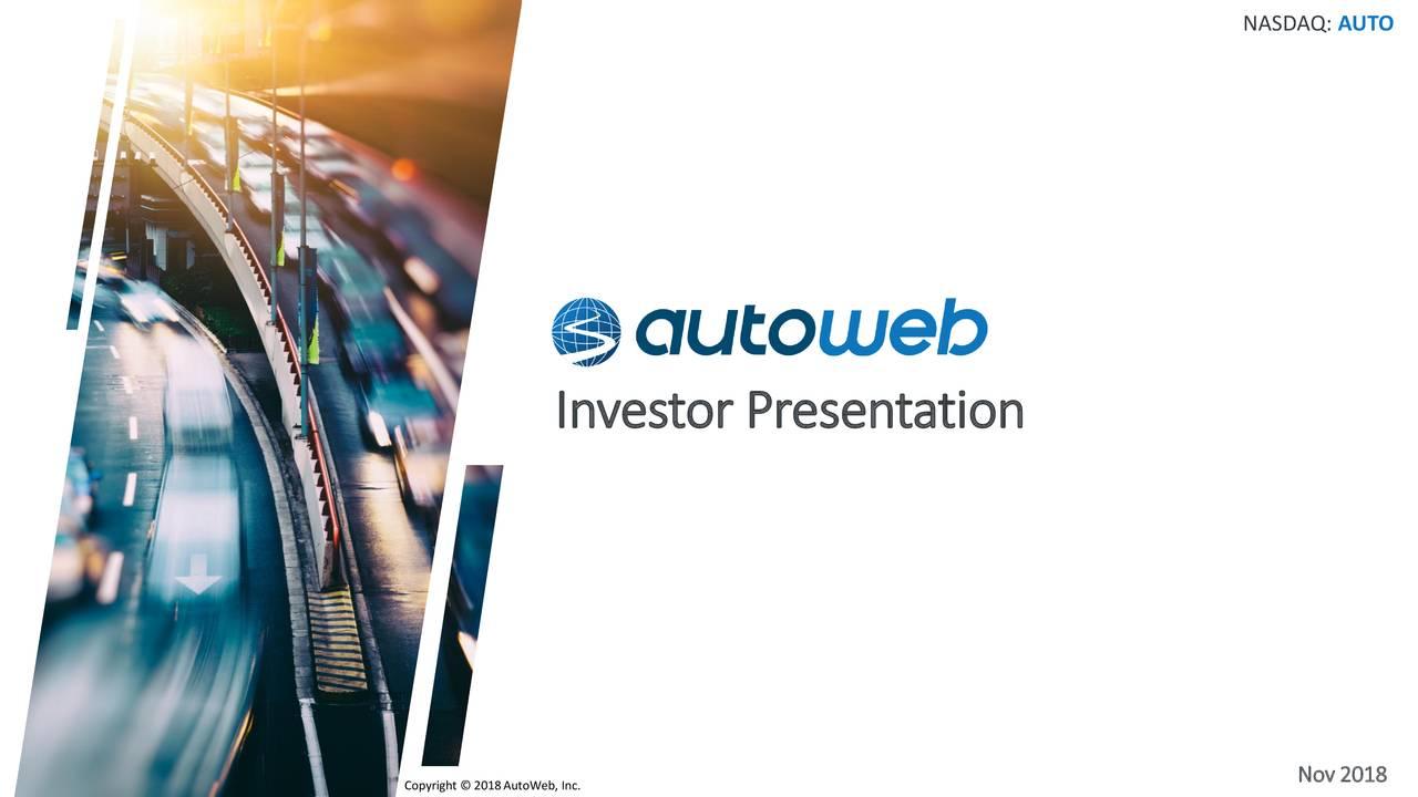 Investor Presentation Nov 2018