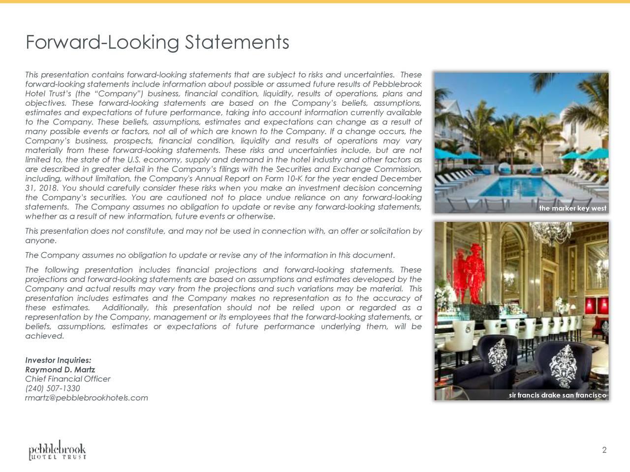 Pebblebrook Hotel Trust (PEB) Investor Presentation