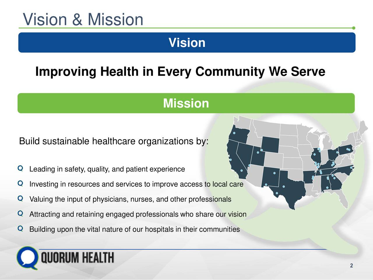 Quorum Health Qhc Presents At Morgan Stanley 15th Annual Global Healthcare Conference