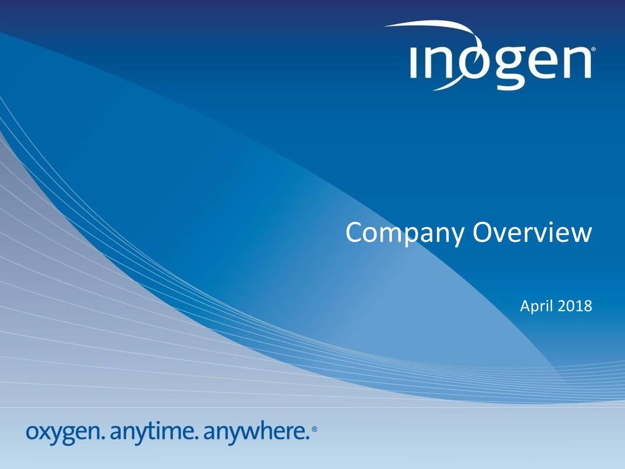 inogen inc Inogen, Inc 2018 Q1 - Results - Earnings Call Slides - Inogen, Inc ...