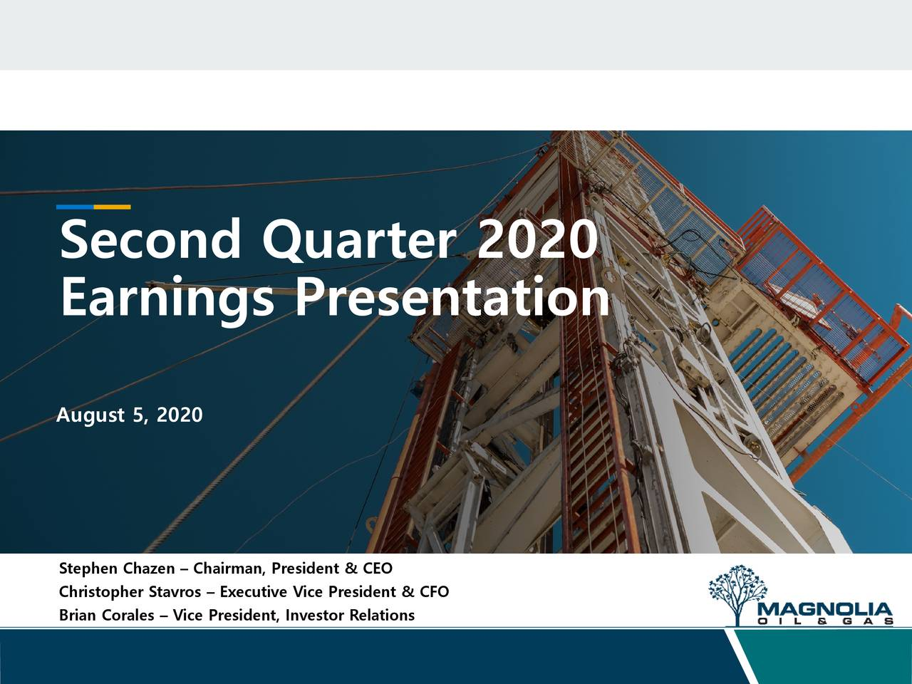 Magnolia Oil & Gas Corporation 2020 Q2 - Results - Earnings Call Presentation (NYSE:MGY)