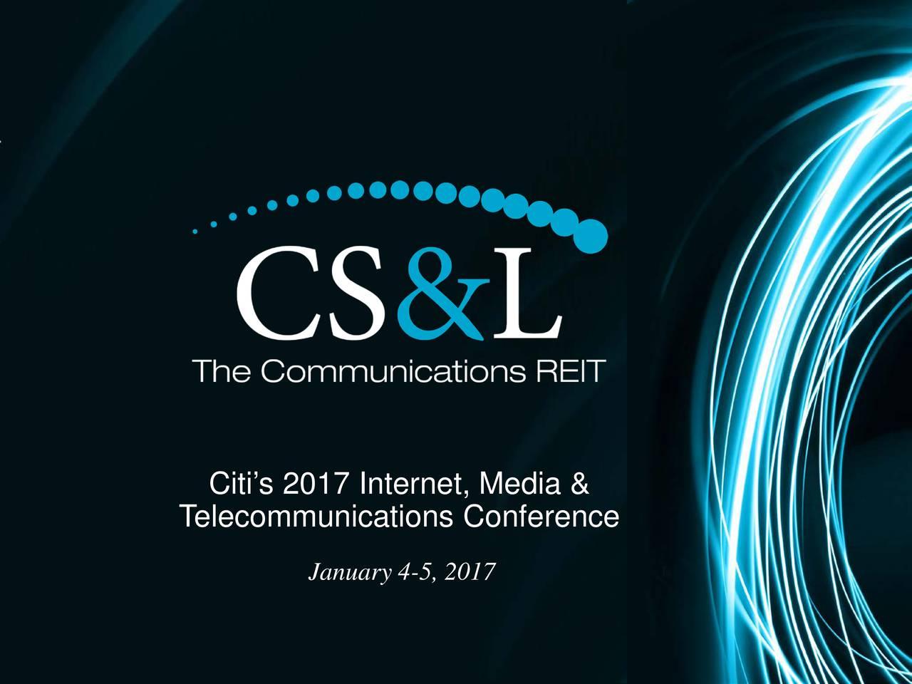 Telecommunications Conference January 4-5, 2017