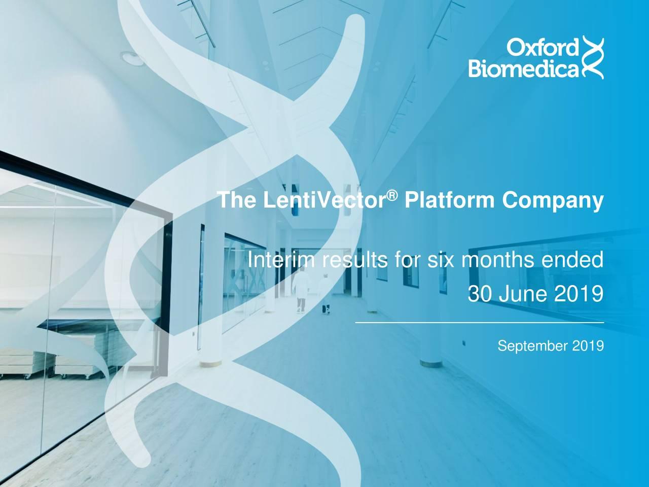 The LentiVector Platform Company