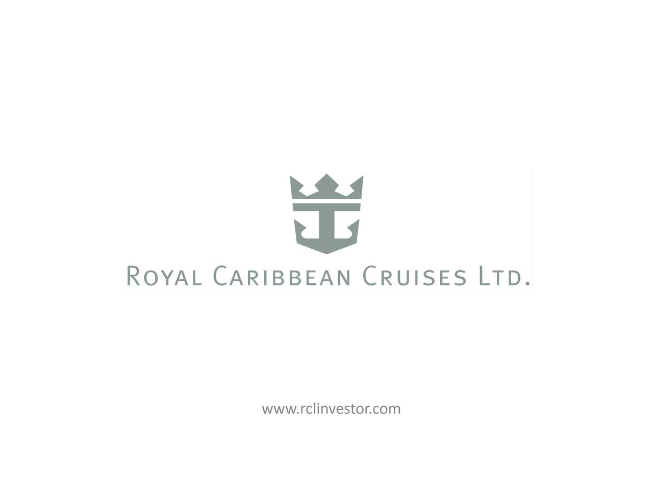 Royal Caribbean Cruises Ltd 2017 Q2