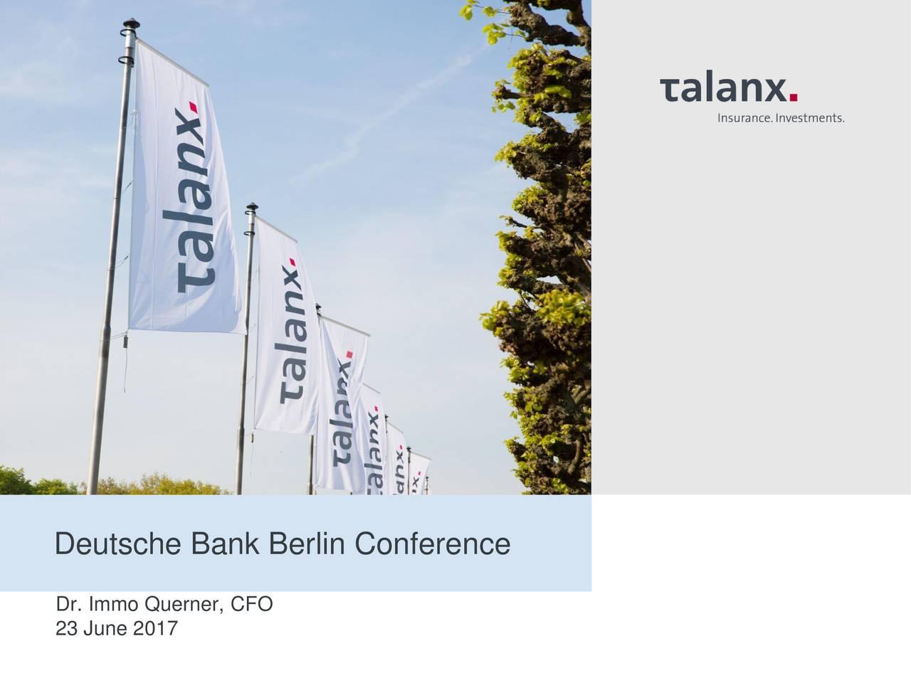 Talanx ag ipo financial advisor