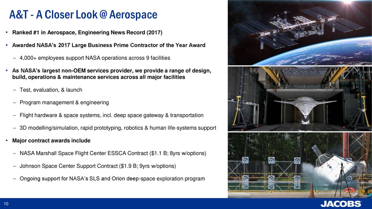 jacobs engineering jec presents  cowen  company  annual aerospacedefense conference