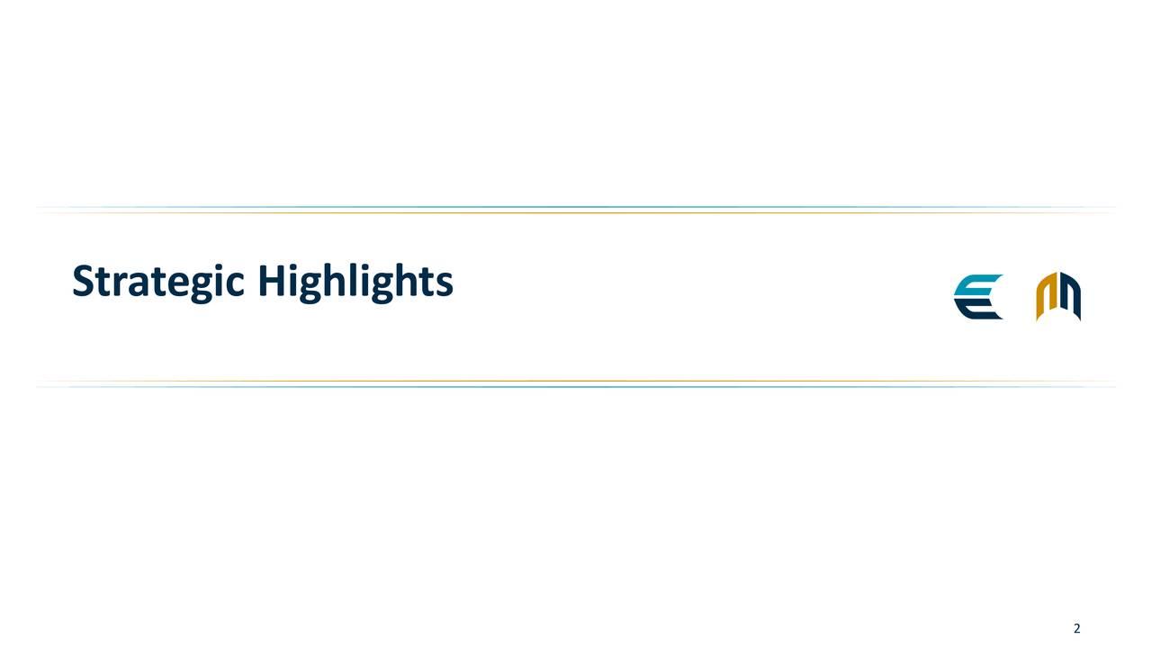 Strategic Highlights