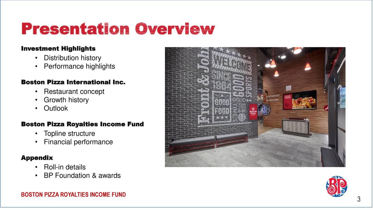Boston pizza royalties income fund q results