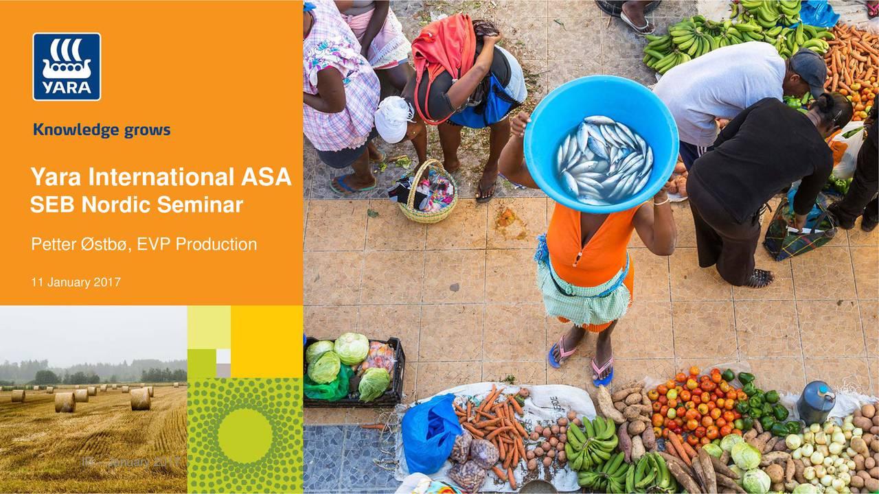 Yara international asa спрос на автомобили