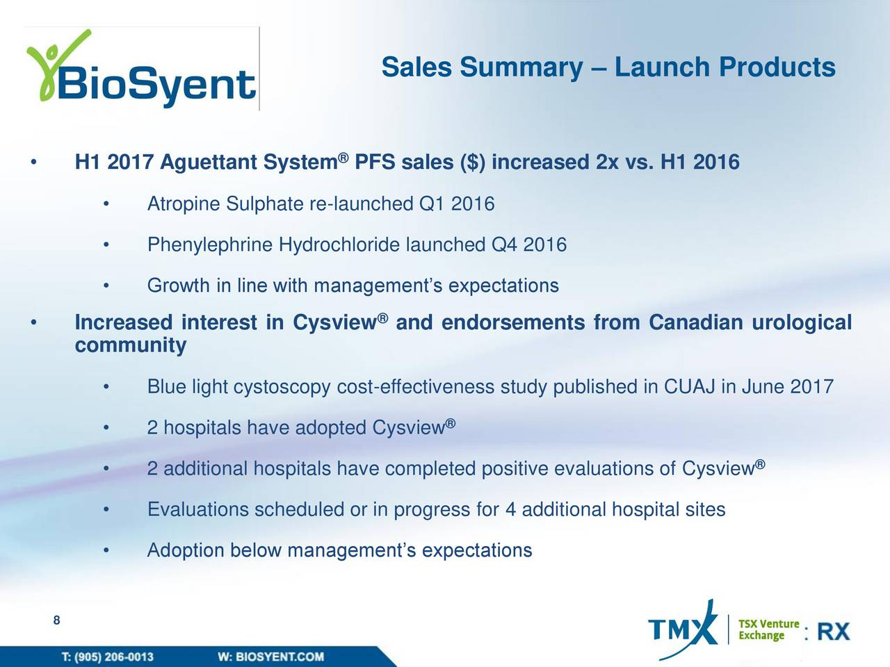 BioSyent Pharma Receives Health Canada Approval for New ...