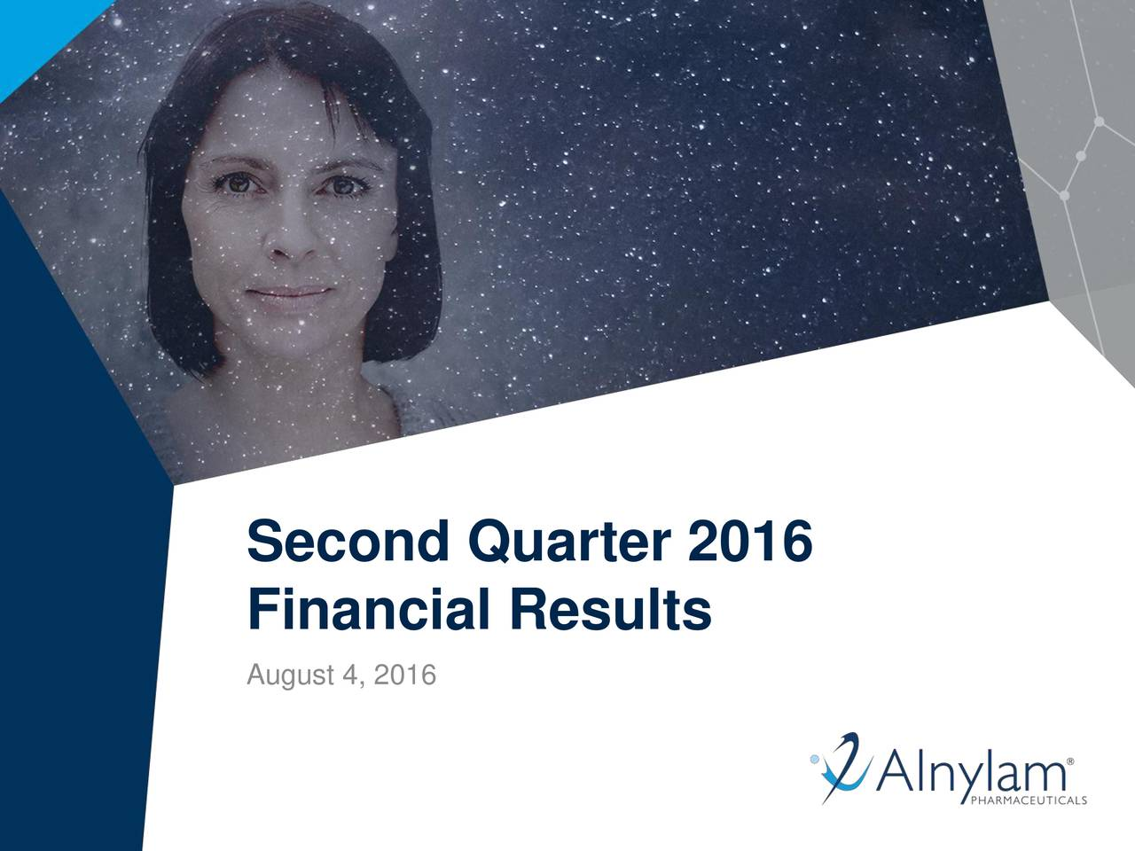 Financial Results August 4, 2016