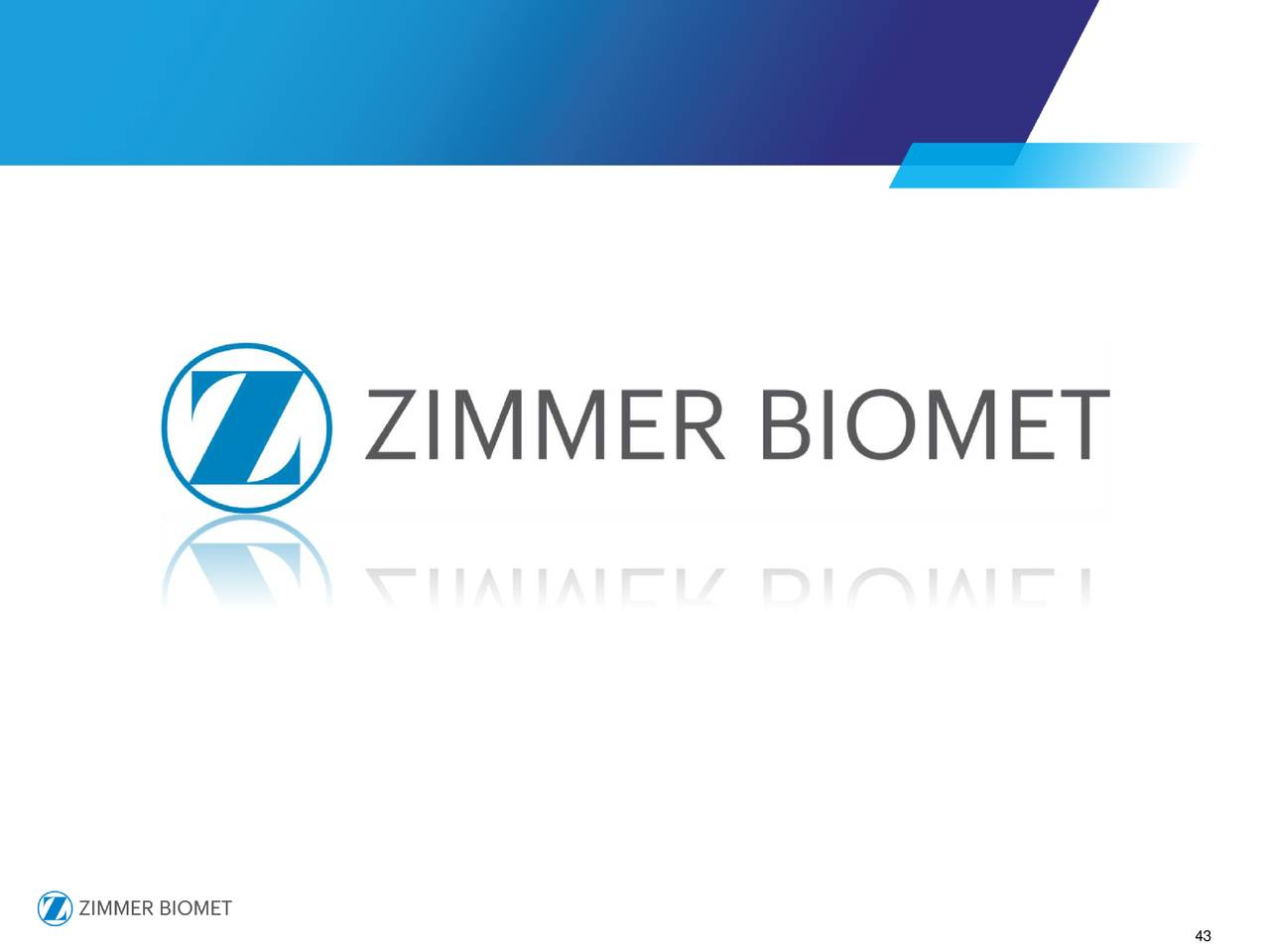 Zimmer biomet holdings inc 2017 q3 results earnings for Zimmer biomet holdings