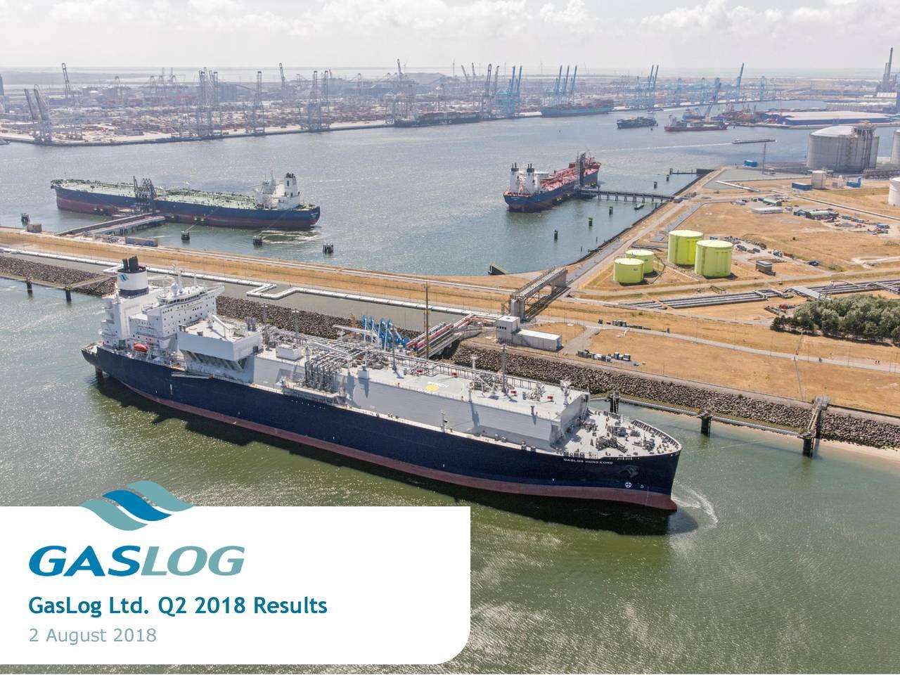 GasLog Ltd. Q2 2018 Results