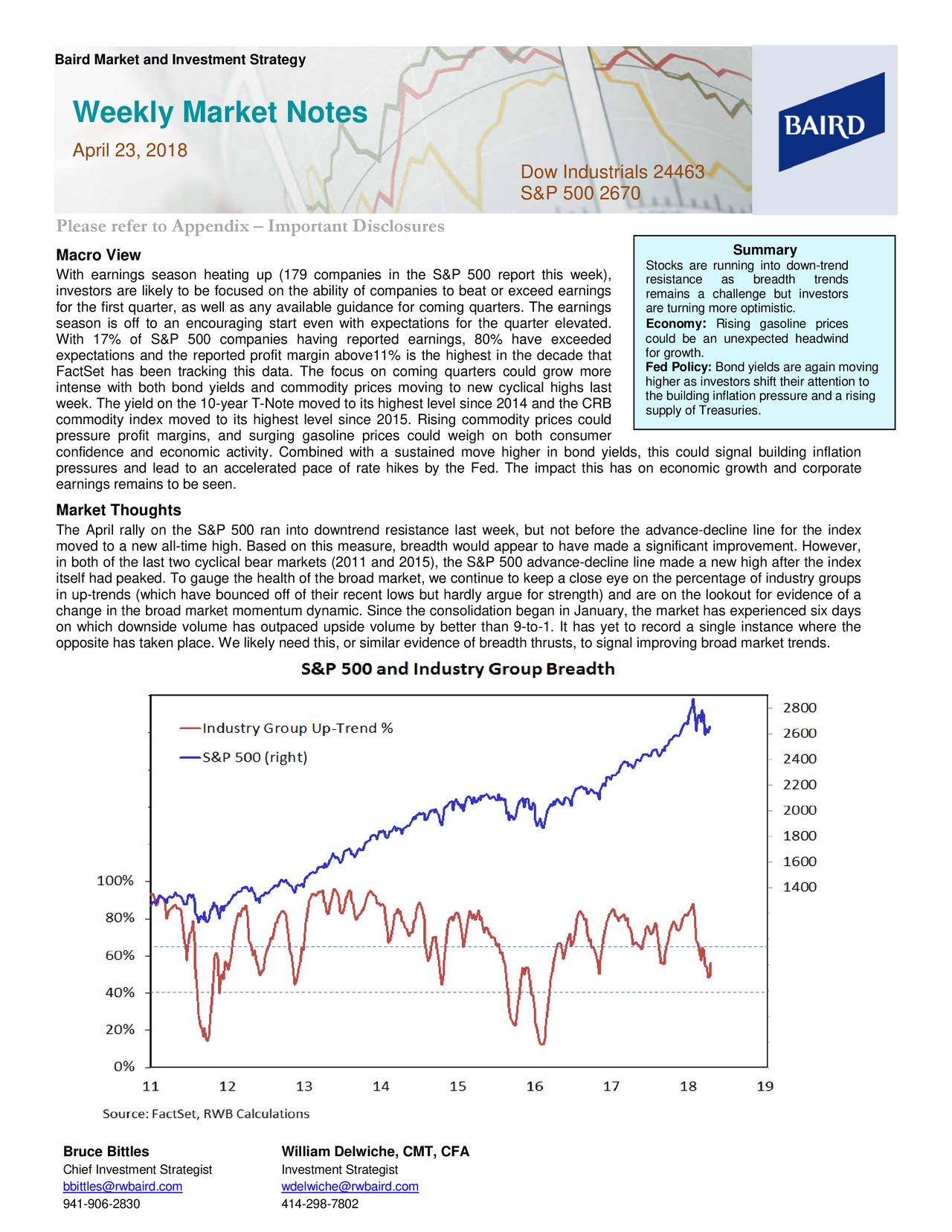 Weekly Market Notes