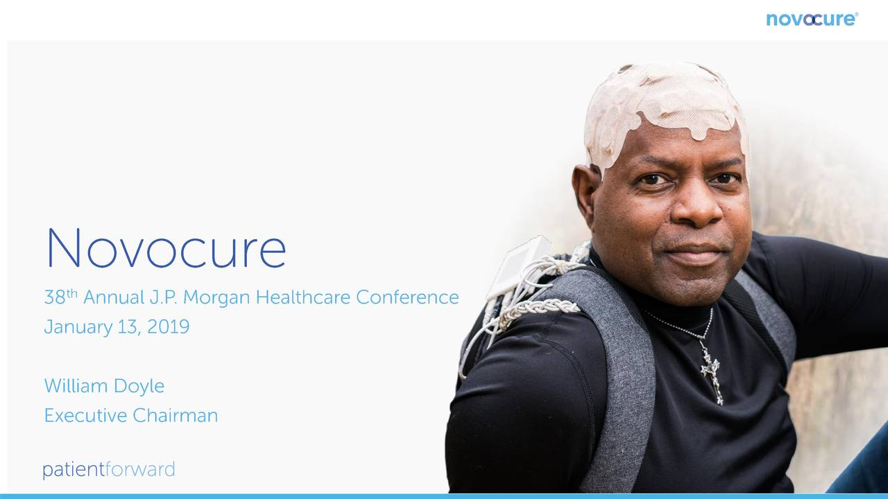 Novocure Nvcr Presents At 38th Annual J P Morgan Healthcare Conference Slideshow Nasdaq Nvcr Seeking Alpha
