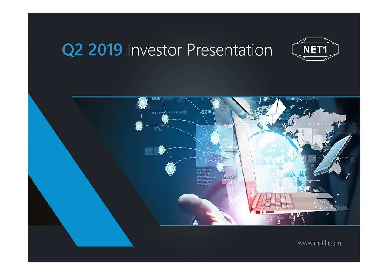Investor Presenntaton Q2 2019