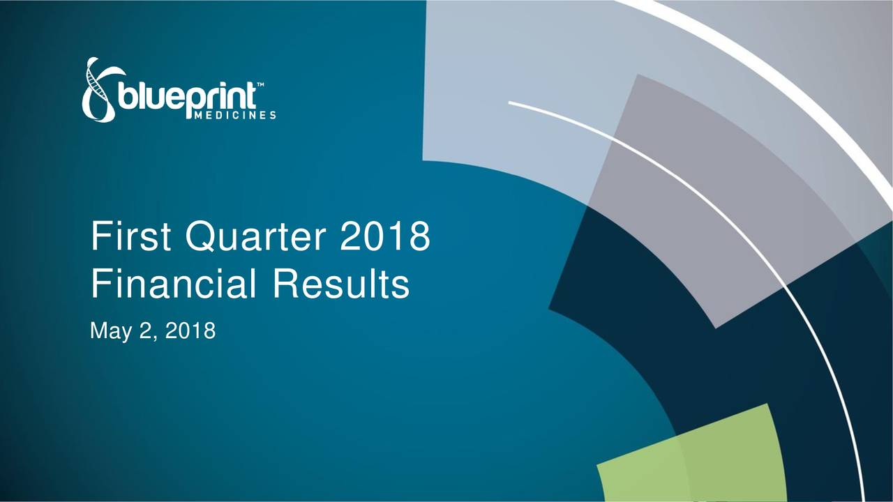 Blueprint medicines 2018 q1 results earnings call slides financial results may 2 malvernweather Image collections