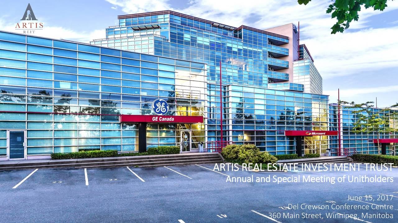 Artis Real Estate Investment Trust (ARESF) Investor Presentation ...