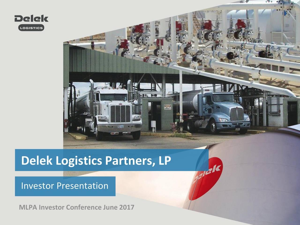 Investor Presentation MLPA Investor Conference June 2017