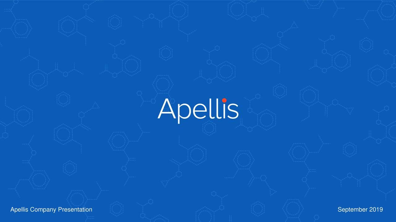 Apellis Company Presentation                                                                                   September 2019