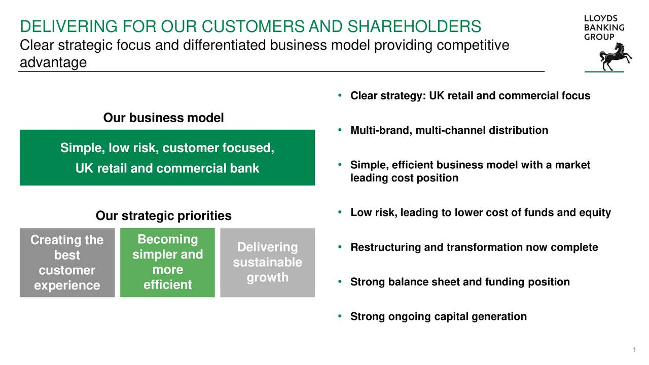 lloyds banking group lyg presents at morgan stanley european