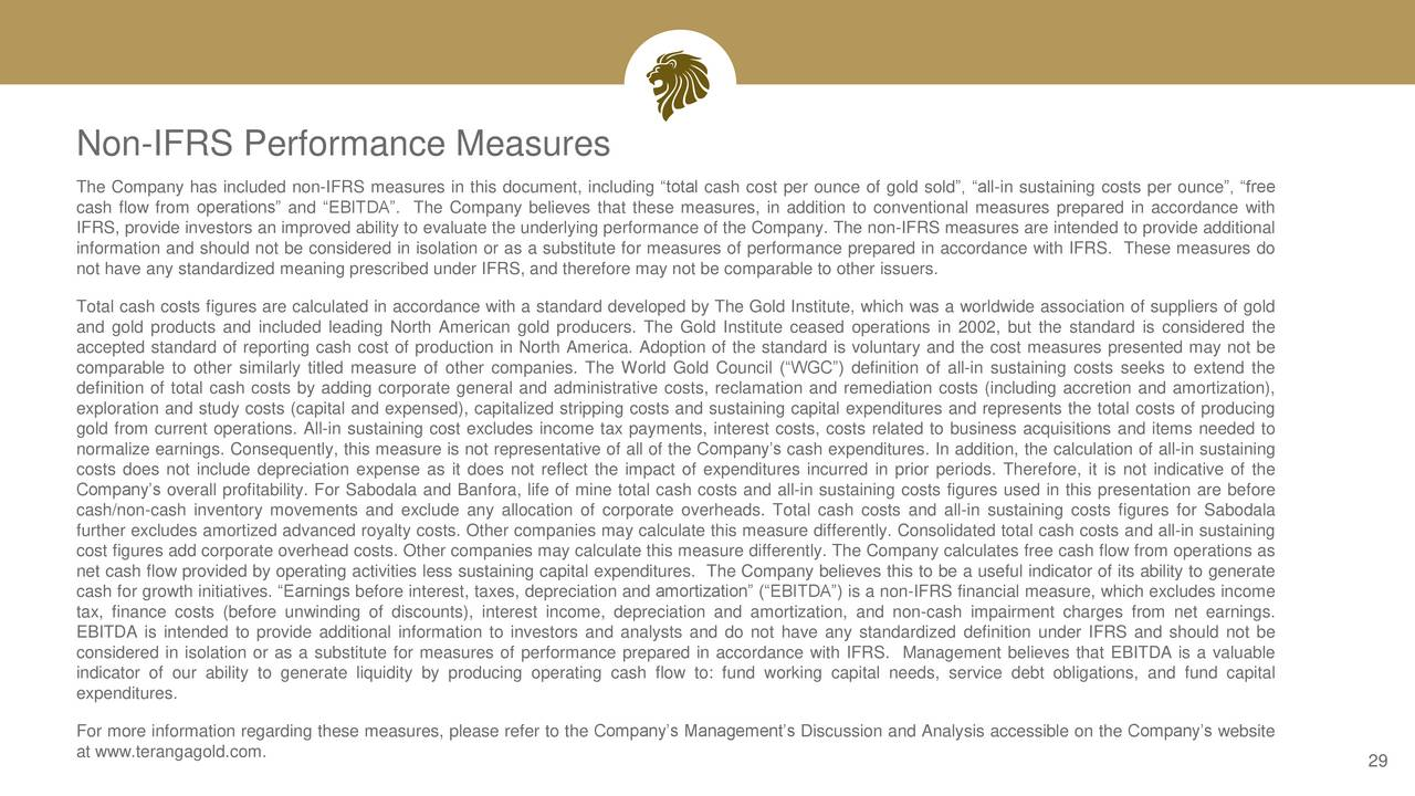 Teranga gold tgcdf presents at 2017 precious metals for Therefore document management price