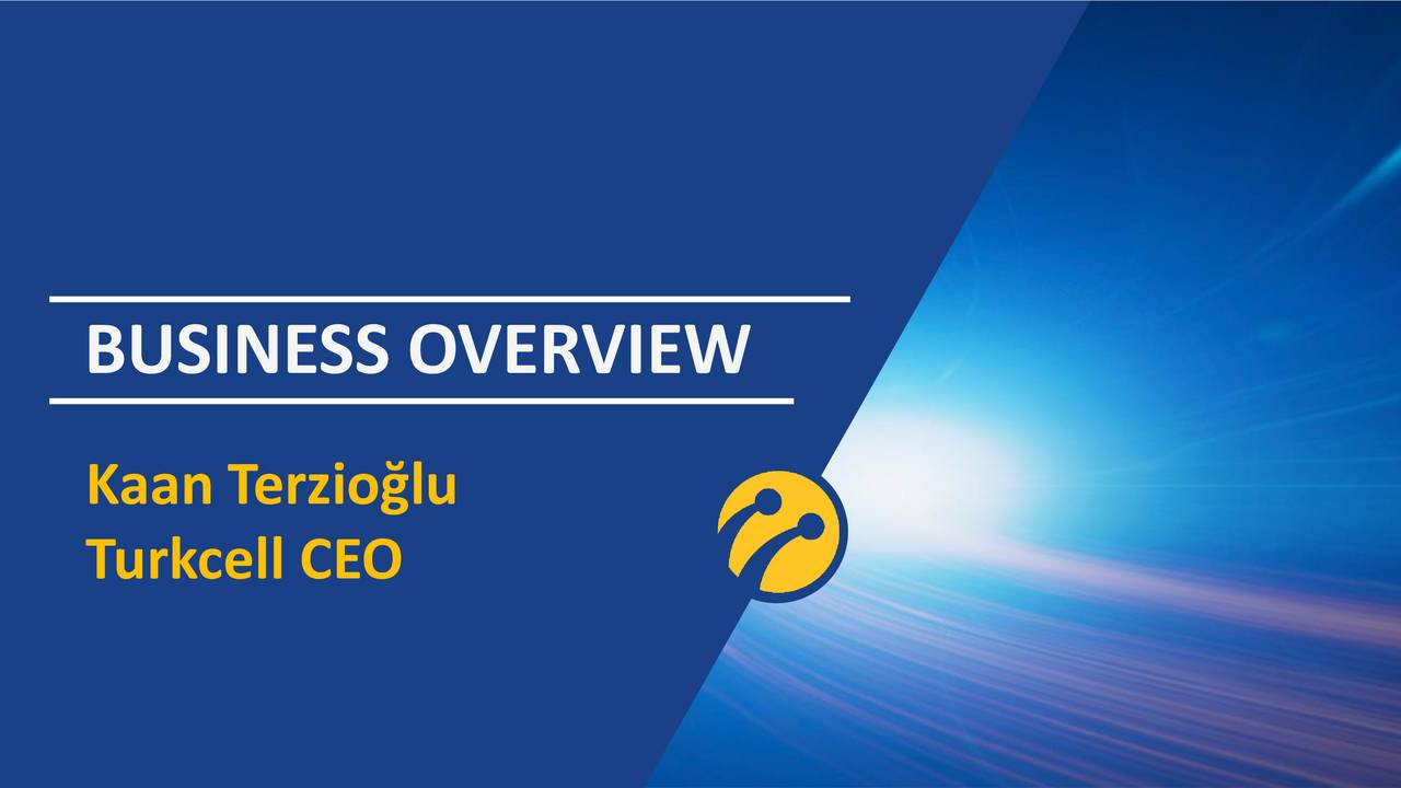 Kaan Terziolu Turkcell CEO