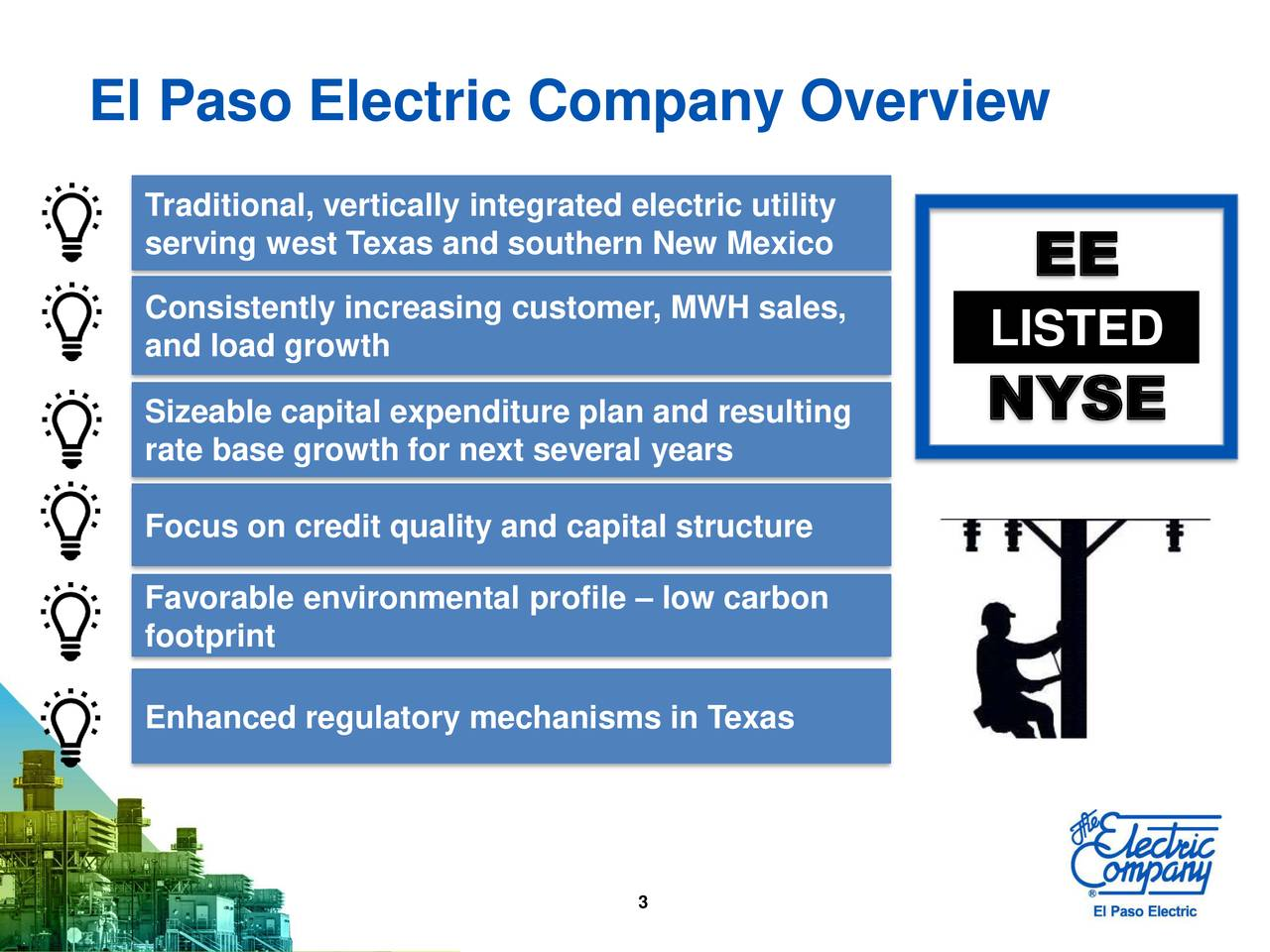 El Paso Electric Company Overview