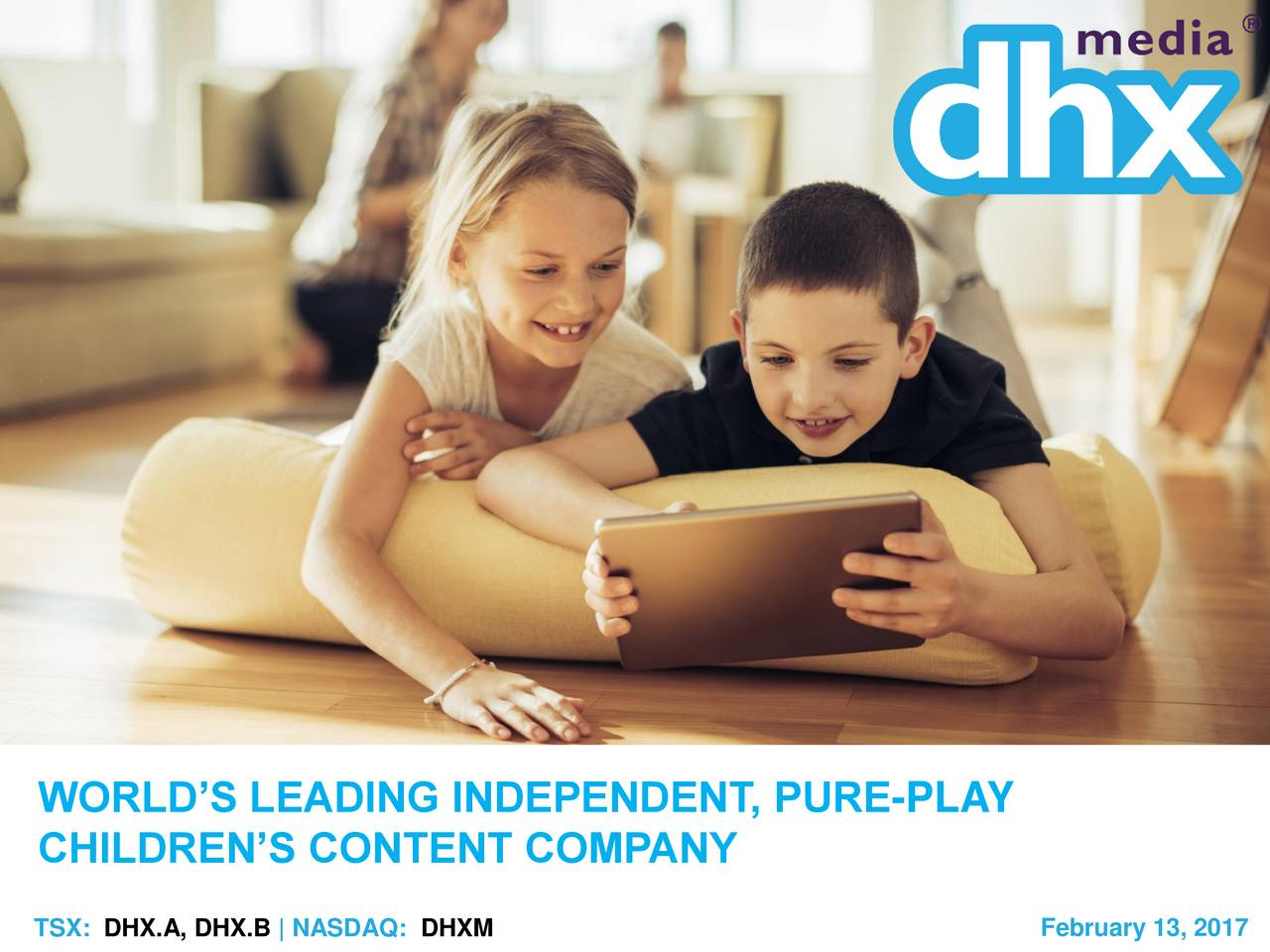 CHILDRENS CONTENT COMPANY February 13, 2017