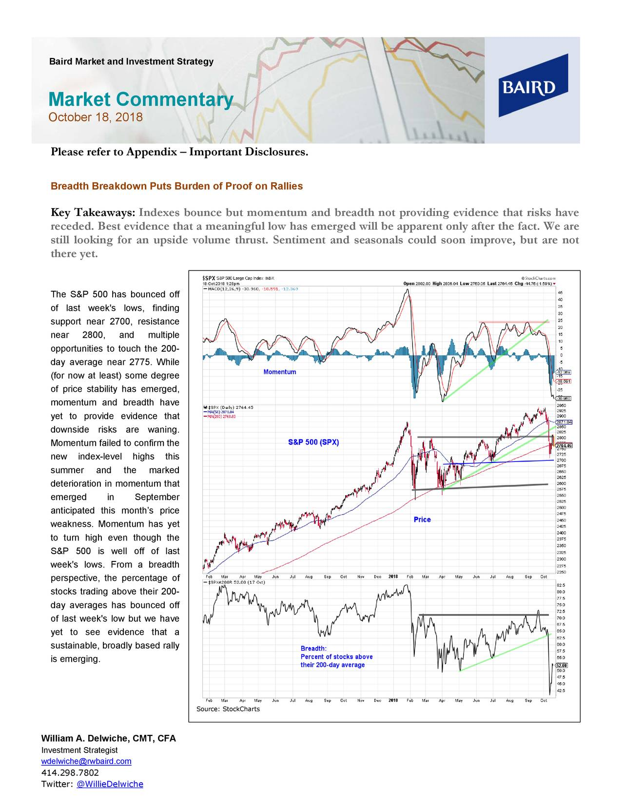 Baird Market and Investment Strategy