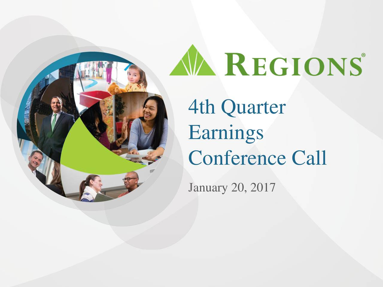 Earnings Conference Call January 20, 2017