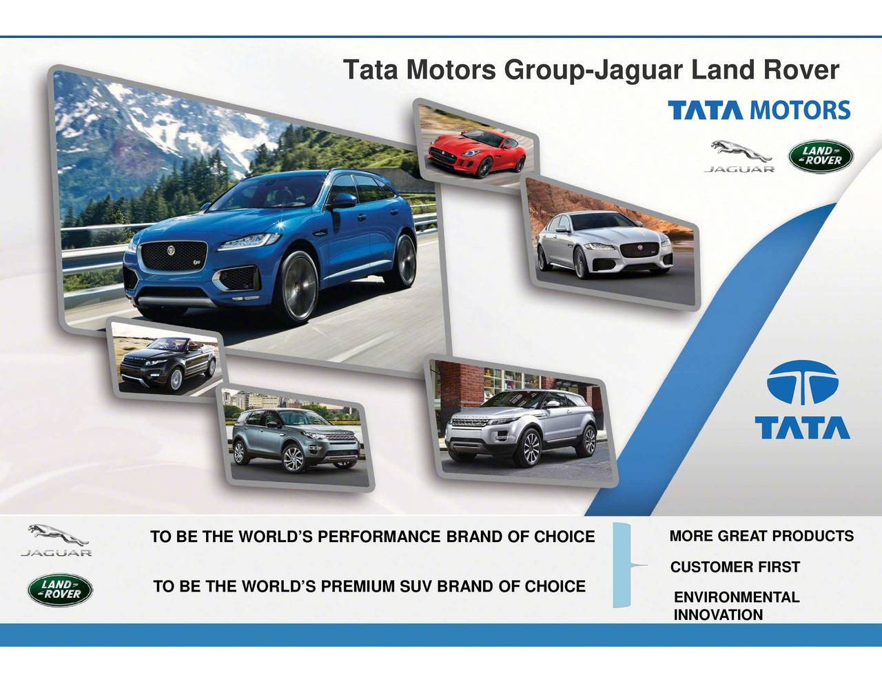 tata motors 3 essay Tata motors is an automotive company to take notice of representing the evolving indian population and growing economy of one of the world's key emerging markets, it is a market leader for commercial vehicles and third for passenger vehicles in the indian market it shocked the world by.