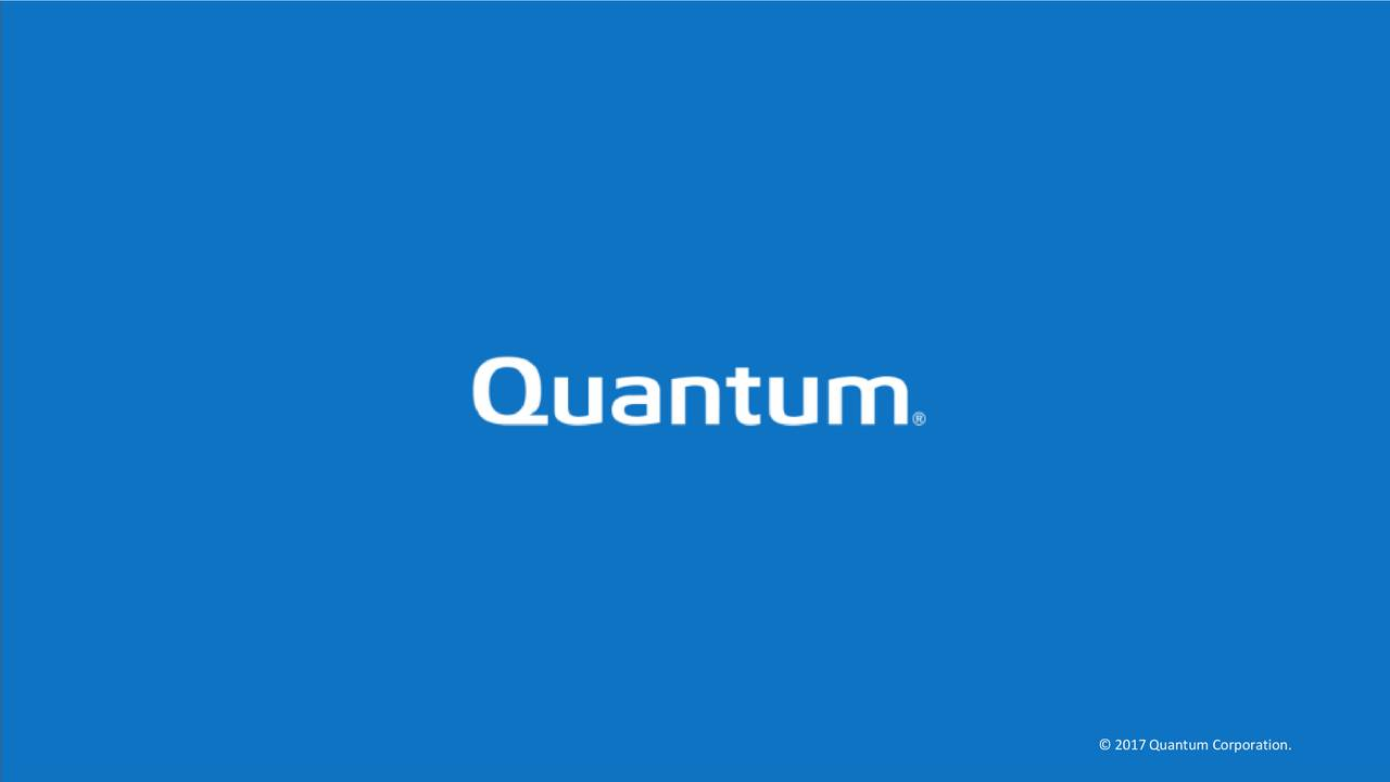 quantum corporation qtm presents at maxim group chicago